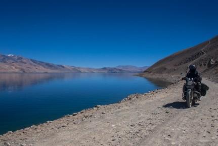 Tso Moriri - Largest high altitude lake in India