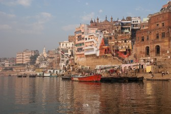 The timeless ghats of Varanasi