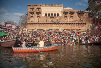 Colors at the ghats in Varanasi