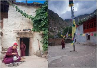 Nuns at Charang Rangrik Monastery