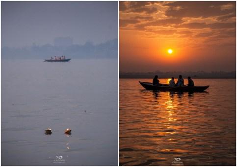 Sunrise at river Ganges