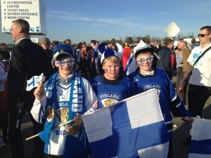 Finnish hockey fans