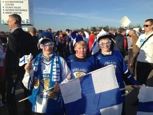Finnish hockey fans