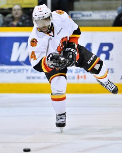 Jordan Subban - Back in Bellville. (Photo by Aaron Bell/OHL Images)