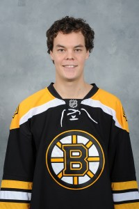 Boston Bruins' Tuukka Rask, a Peterson client.