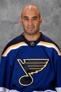 Veteran Scott Gomez began the 2015-16 season in St. Louis and will end it with the Ottawa Senators.