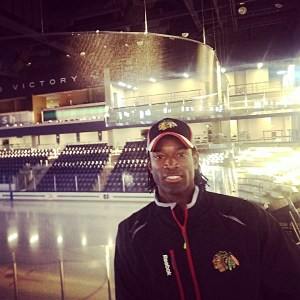 Uriah Jones was inspired by Paris and aspires to  make hockey a career.