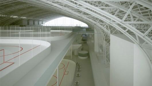 Kingsbridge National Ice Center rendering.