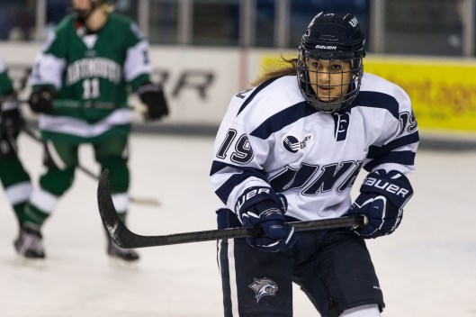 Cassandra's hoping to make an impression at UNH and with Hockey Canada.