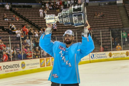 NHL Diversity alum Gerald Coleman finished his hockey career on top - winning the ECHL Kelly Cup in 2013-14.