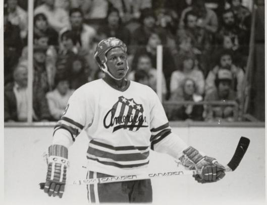 e6cc17e3b James, the NHL's first African-American player, appropriately played for  the AHL's Rochester