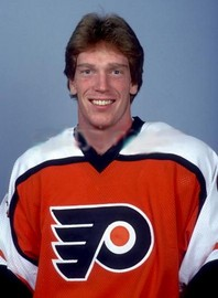Mike Stothers fought James 13 times in one AHL playoff series (Photo/Philadelphia Flyers)