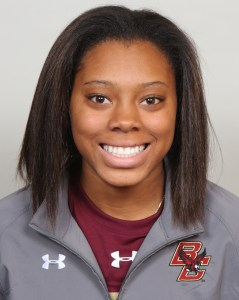 From the sun-drenched West Coast to snowy New England, Kaliya Johnson helps anchor Boston College's blue line.