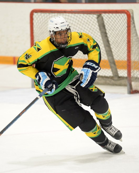 Jamaica was jammin' at a tournament in Nottawasaga, Ont., earlier this month but lost by a goal in championship game (Photo/@GameDayPhoto).