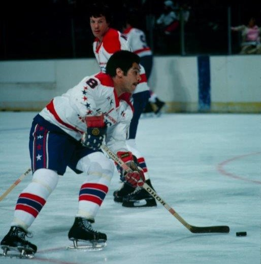There weren't many NHL players stronger than Mike Marson, according to former Capitals teammate Bill Riley, who was the league's third black player (Photo/Washington Capitals archives).