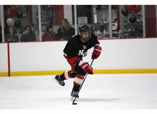 Columbus Ice Hockey Club's Akeem Adesiji, one of four 2016 NHL/Thurgood Marshall Fund scholarship recipients.