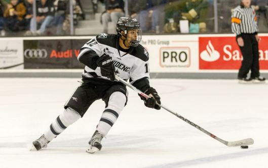Forward Erik Foley distinguished himself in his freshman year playing for Providence College.