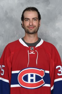 Al Montoya, G, Montreal Canadiens