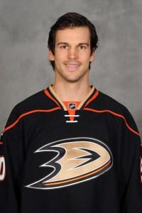 Anaheim Ducks forward Antoine Vermette.