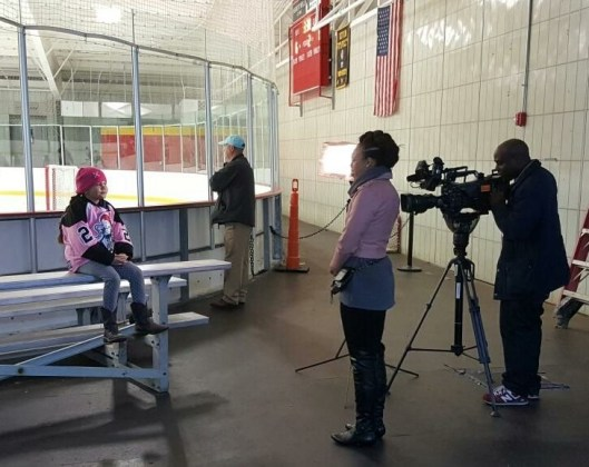 A crew from Washington's WTTG, FOX 5, reports on the plight of the Tucker Road Ducks.