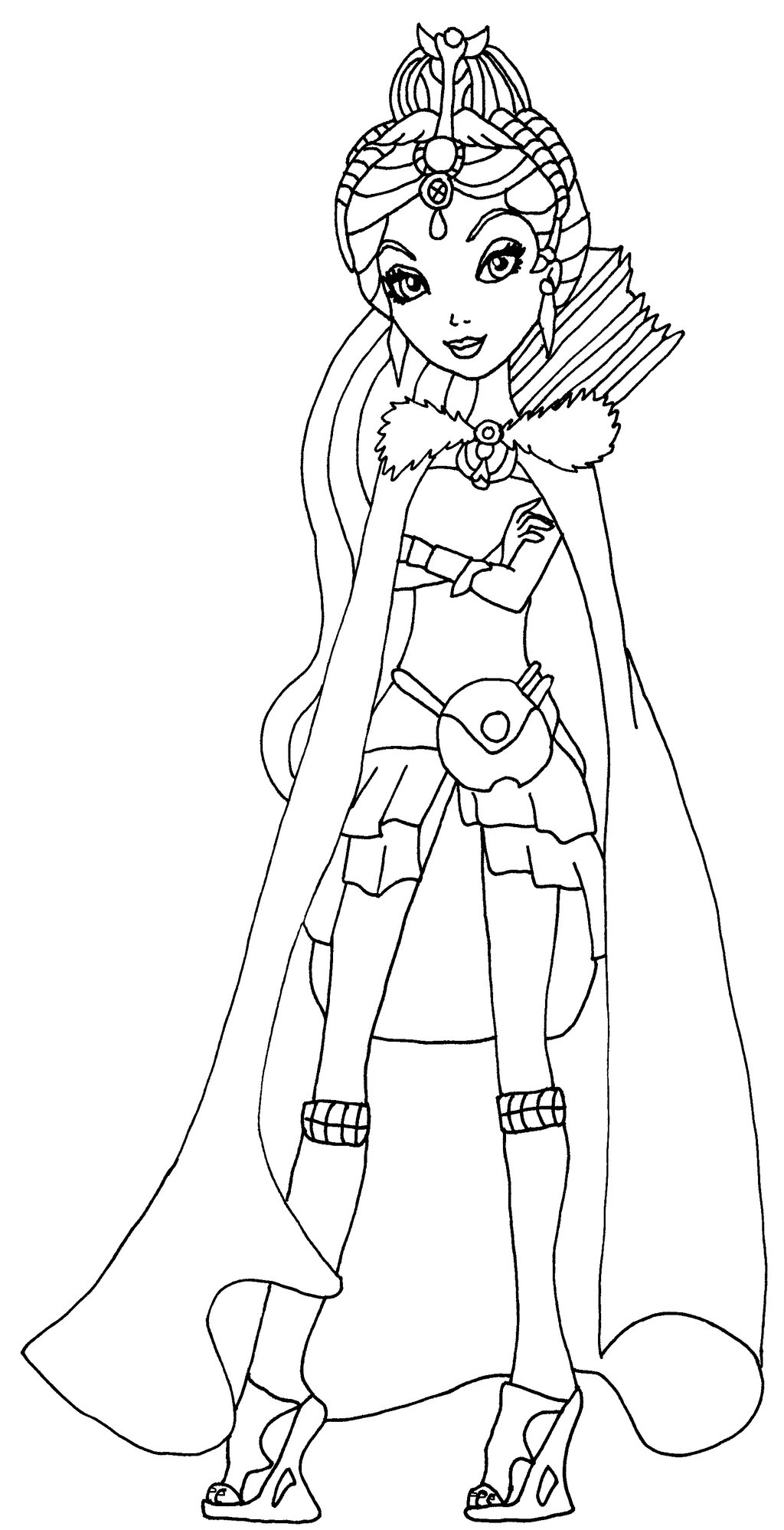 Ever After High Free Coloring Pages Images To Print