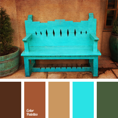 Light Blue And Brown Color Palette Ideas