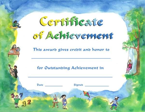 Achievements Certificates. certificate of achievement ...