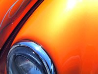 Bright Orange Candy Pearl - Orange Metallic Pigment