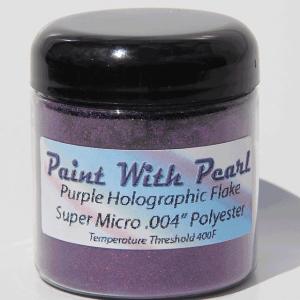 Purple Holographic Metal Flake