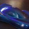 Our Aqua Blue Purple ColorShift Pearls Metal Flake . Colorshifting.