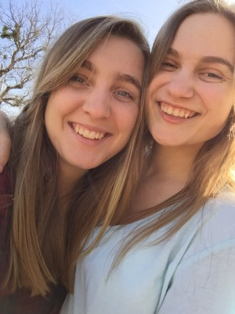Me and my baby sister, Sara <3
