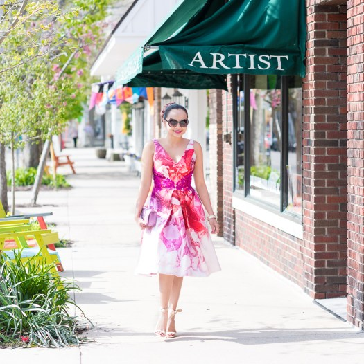 Fit And Flare Dresses By Monique Lhuillier In Saugatuck