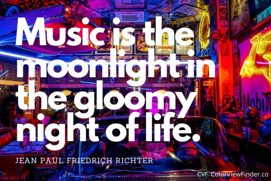Music is the moonlight in the gloomy night of life.