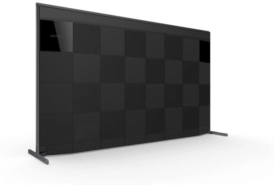 Bravia Back Side Sony ZH8-75
