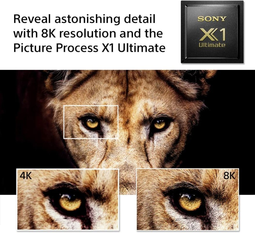 X1 Ultimate Picture Processor Sony XBR 75Z8H