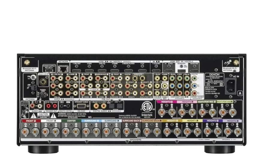 Denon AVR-X8500HA Back