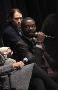 SELMA, AL - JANUARY 18: EDITORIAL USE ONLY- David Oyelowo speaks at the Selma High School Q&A event on January 18, 2015 in Selma, Alabama. (Photo by Rick Diamond/Getty Images for Paramount Pictures) *** Local Caption *** David Oyelowo