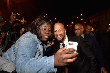 "SELMA, AL - JANUARY 18: EDITORIAL USE ONLY Common attends a special screening of ""Selma,"" presented by Paramount Pictures on January 18, 2015 in Selma, Alabama. (Photo by Paras Griffin/Getty Images for Paramount Pictures) *** Local Caption *** Common"