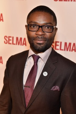 "SELMA, AL - JANUARY 18: EDITORIAL USE ONLY David Oyelowo attends a special screening of ""Selma,"" presented by Paramount Pictures on January 18, 2015 in Selma, Alabama. (Photo by Paras Griffin/Getty Images for Paramount Pictures) *** Local Caption *** David Oyelowo"