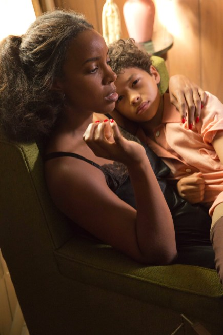 EMPIRE: Pictured L-R: Guest star Kelly Rowland as Leah and Shannon Brown as Young Dwight Walker in the ÒThe Devils Are HereÓ Season Two premiere episode of EMPIRE airing Wednesday, Sept. 23 (9:00-10:00 PM ET/PT) on FOX. ©2015 Fox Broadcasting Co. Cr: Chuck Hodes/FOX.