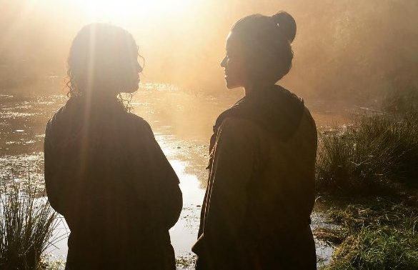 "Are Tessa Thompson and Gina Rodriguez an item in ""Annihilation""?"