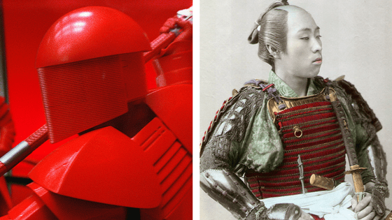 "Akai samurai: The Praetorian Guard's Japanese influence in ""Star Wars: The Last Jedi"""