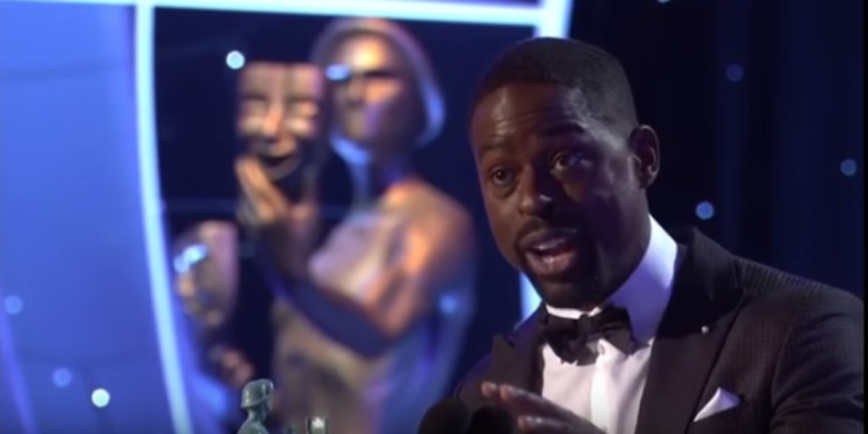 Sterling K. Brown at the Screen Actors Guild Awards