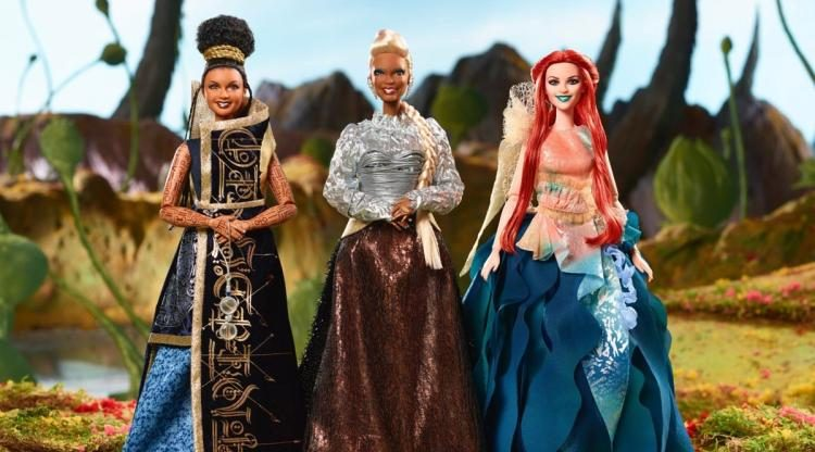 Mrs. Who, Mrs. Which and Mrs. Whatsit Barbies