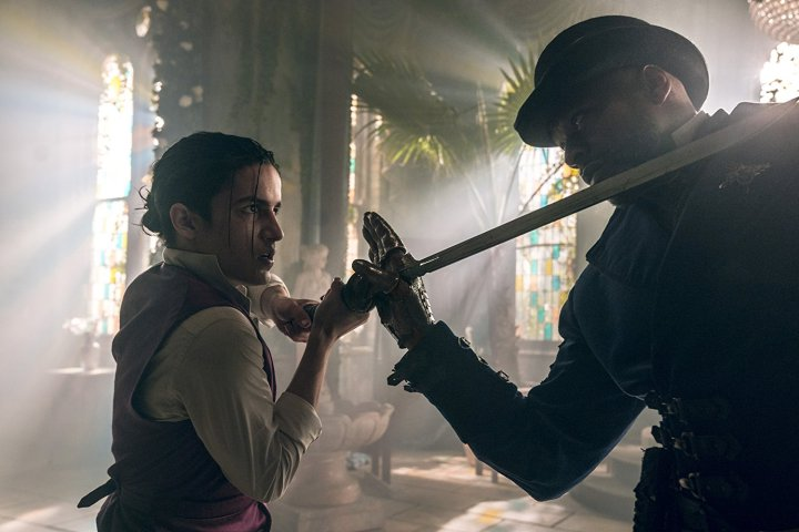 Sherman Augustus and Aramis Knight in Into the Badlands