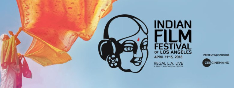 banner for the Indian Film Festival of Los Angeles