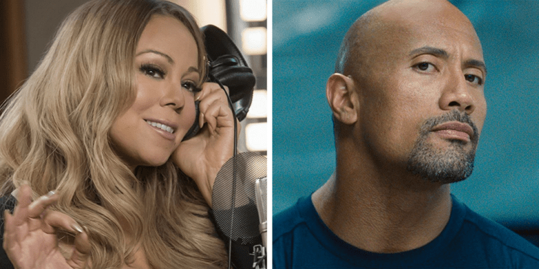 Mariah Carey in Empire, Dwayne Johnson in Furious 6