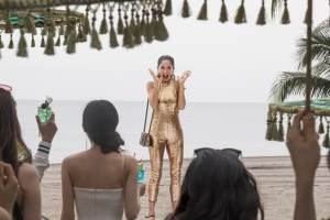 """Photo Credit: Sanja Bucko Caption: SONOYA MIZUNO as Araminta in Warner Bros. Pictures' and SK Global Entertainment's and Starlight Culture's contemporary romantic comedy """"CRAZY RICH ASIANS,"""" a Warner Bros. Pictures release."""