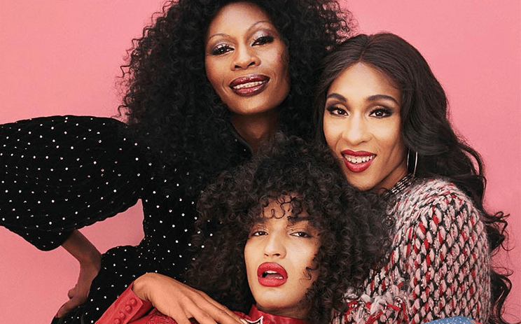 Mj Rodriguez, Indya Moore and Dominique Jackson 'Pose' on the cover of Out Magazine