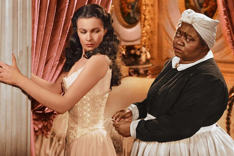 Vivien Leigh and Hattie McDaniel in 'Gone With the Wind.' Photo credit: Silver Screen Collection